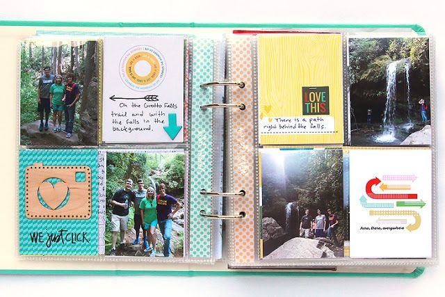 deb duty papercrafting: project life style vacation album