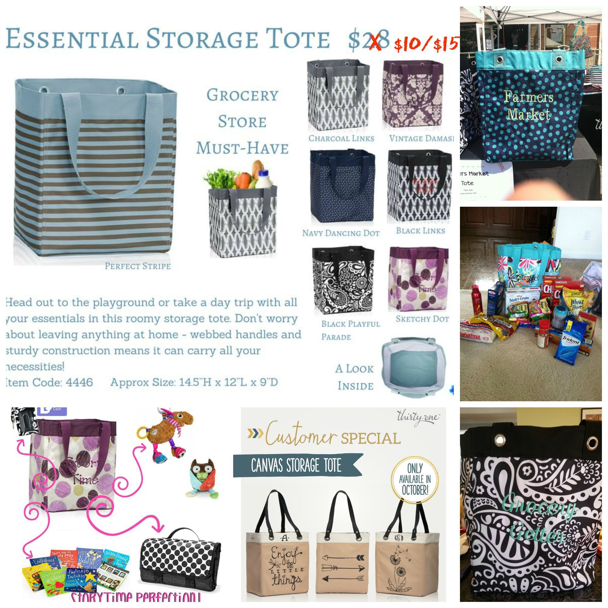 Get Your Essential Storage Tote In October For Only $10 With Your $35  Purchase, Or