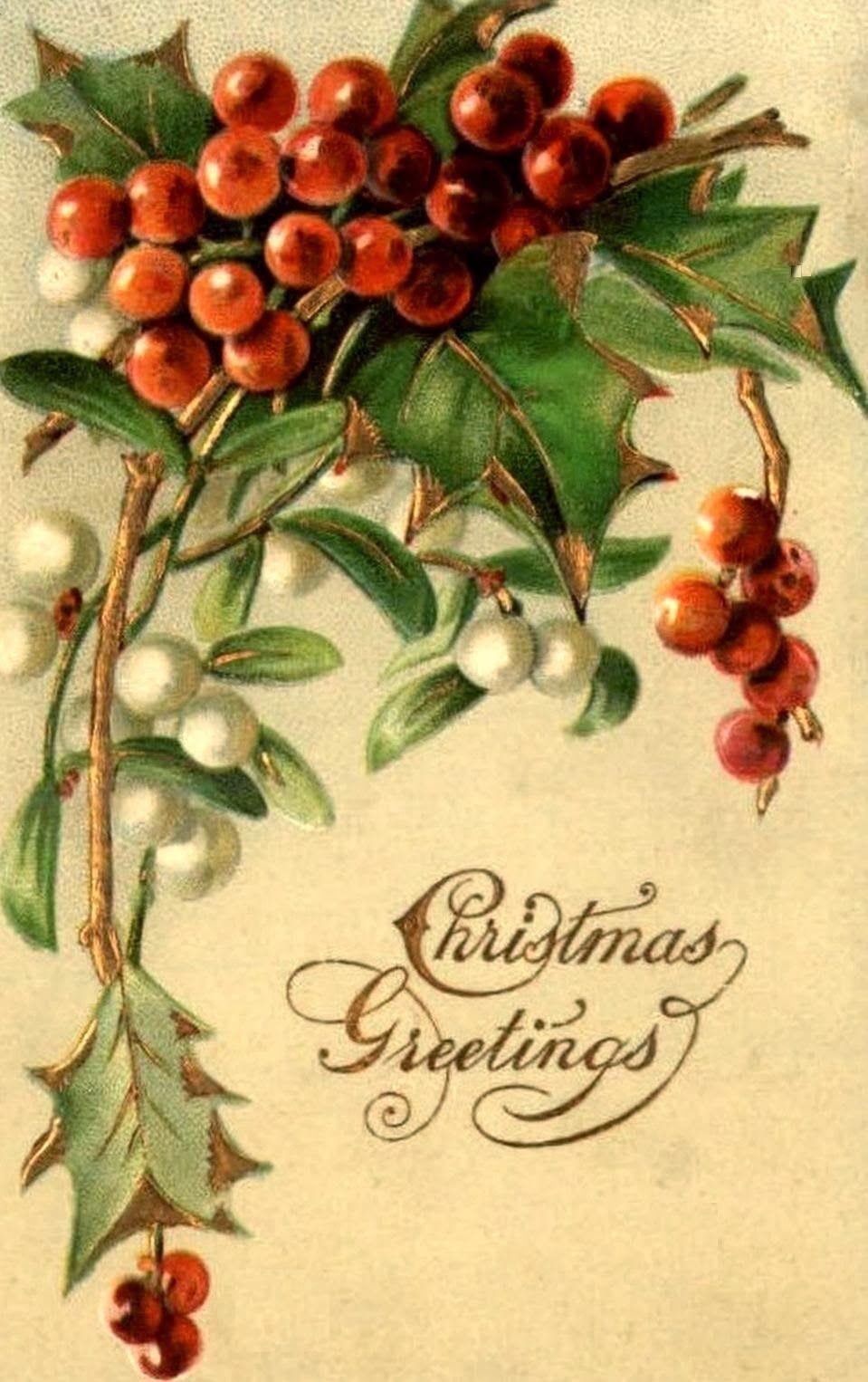 Bumble button beautiful antique postcards featuring for Nostalgische weihnachtsdeko