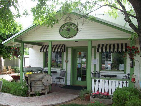 Papa Ed's Ice Cream, Glendale, AZ.  Old fashion ice cream parlor. Adorable place.