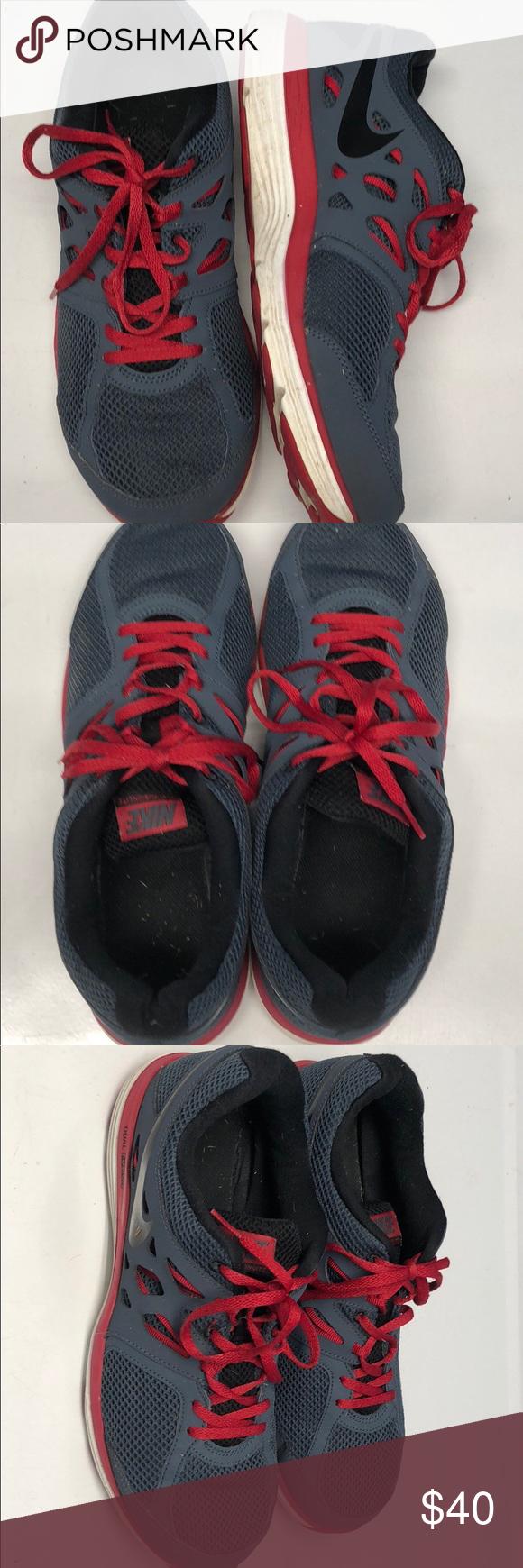 5e4e373d993e5 Nike Dual Fusion Lite Running Shoes 599513-400 Men s size 10.5 ...