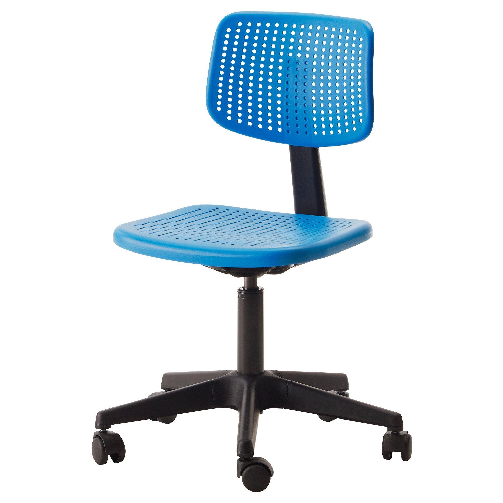 IKEA ALRIK Swivel chair blue Ikea desk chair, Ikea