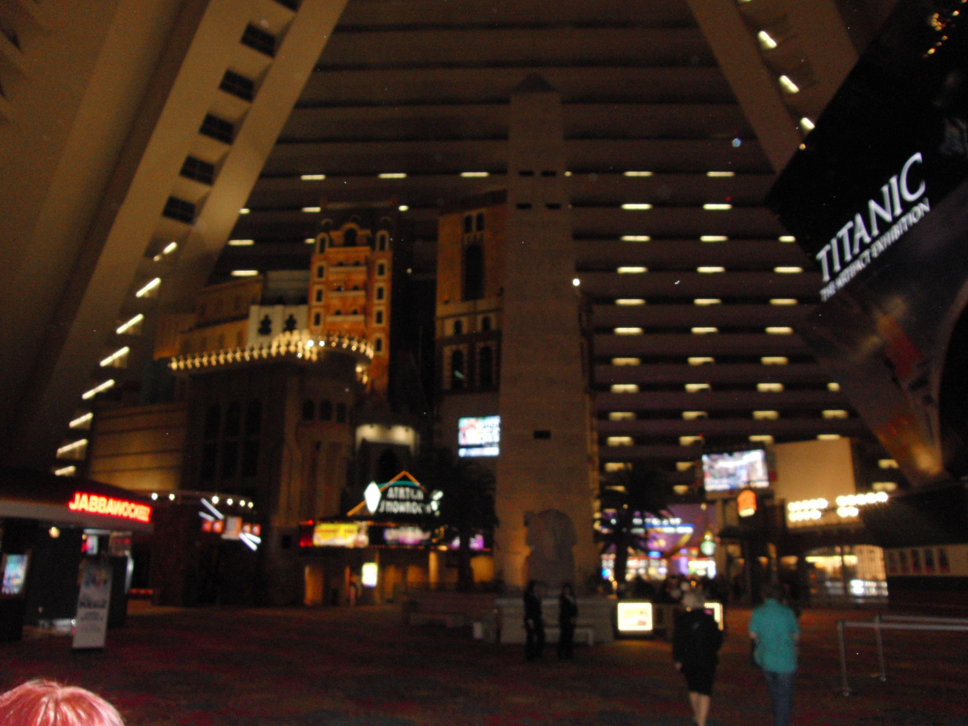 Hotel Luxor in Las Vegas --- http://www.mytraveldiaryusa.de/