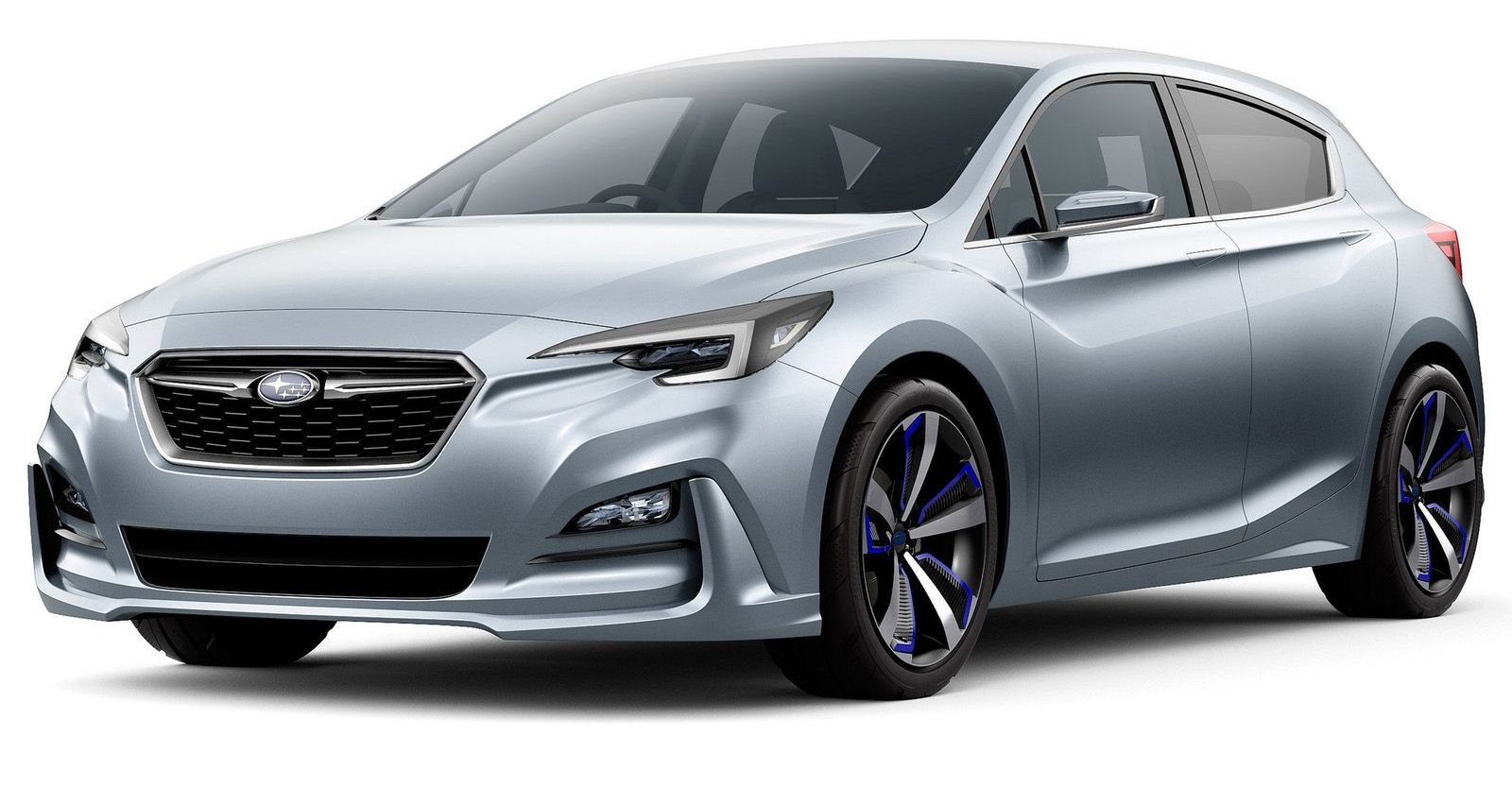The Subaru Impreza 5 Door Hatch Concept Cranks The Excitement Up Maybe One Or Two Notches Subaru Impreza Impreza Subaru