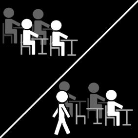 blijven zitten in de klas / klas: blijven zitten / rondlopen in de klas mag niet / klas: niet rondlopen