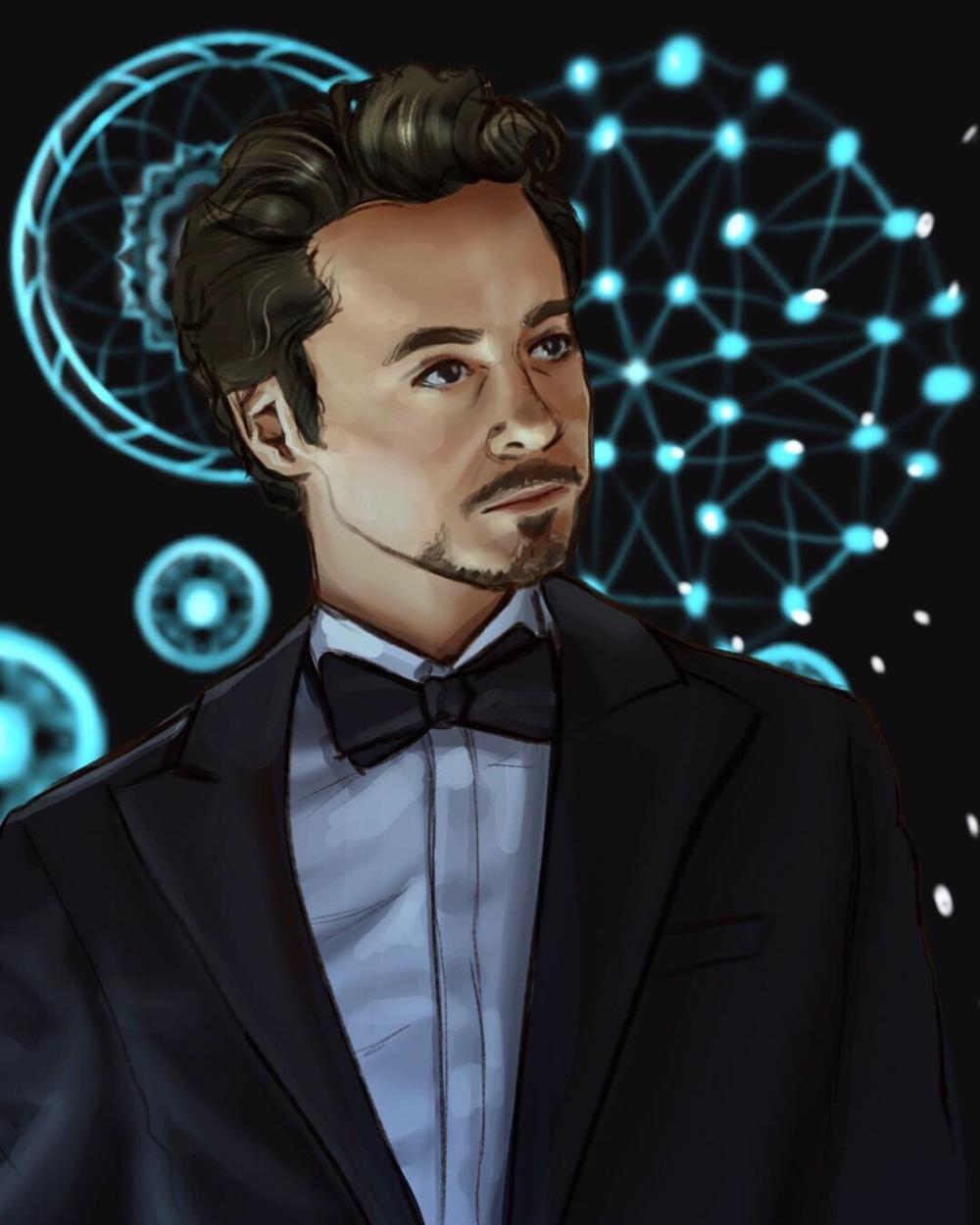Tony Stark Has A Heart Sunavaire In 2020 Tony Stark Art Tony Stark Fanart Tony Stark
