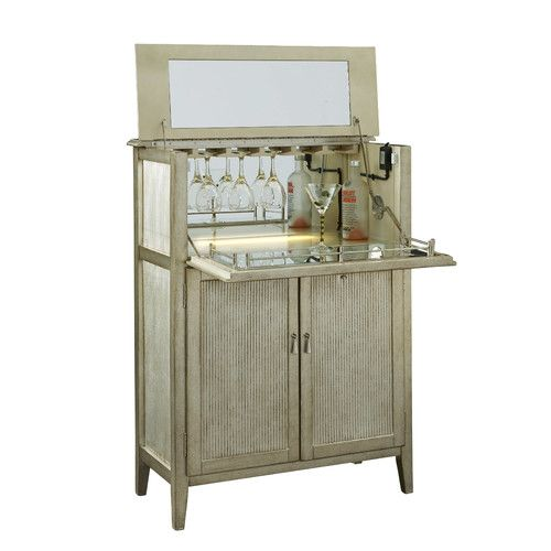 Pulaski Furniture Accent Bar Cabinet   Small In Scale, This Accent Bar Is  Big In