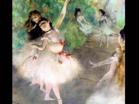 DEGAS dancer images to Le Ballerine Arabesque No. 2 DEBUSSY - YouTube | Cycle 2 Week 17 | 3 minutes.