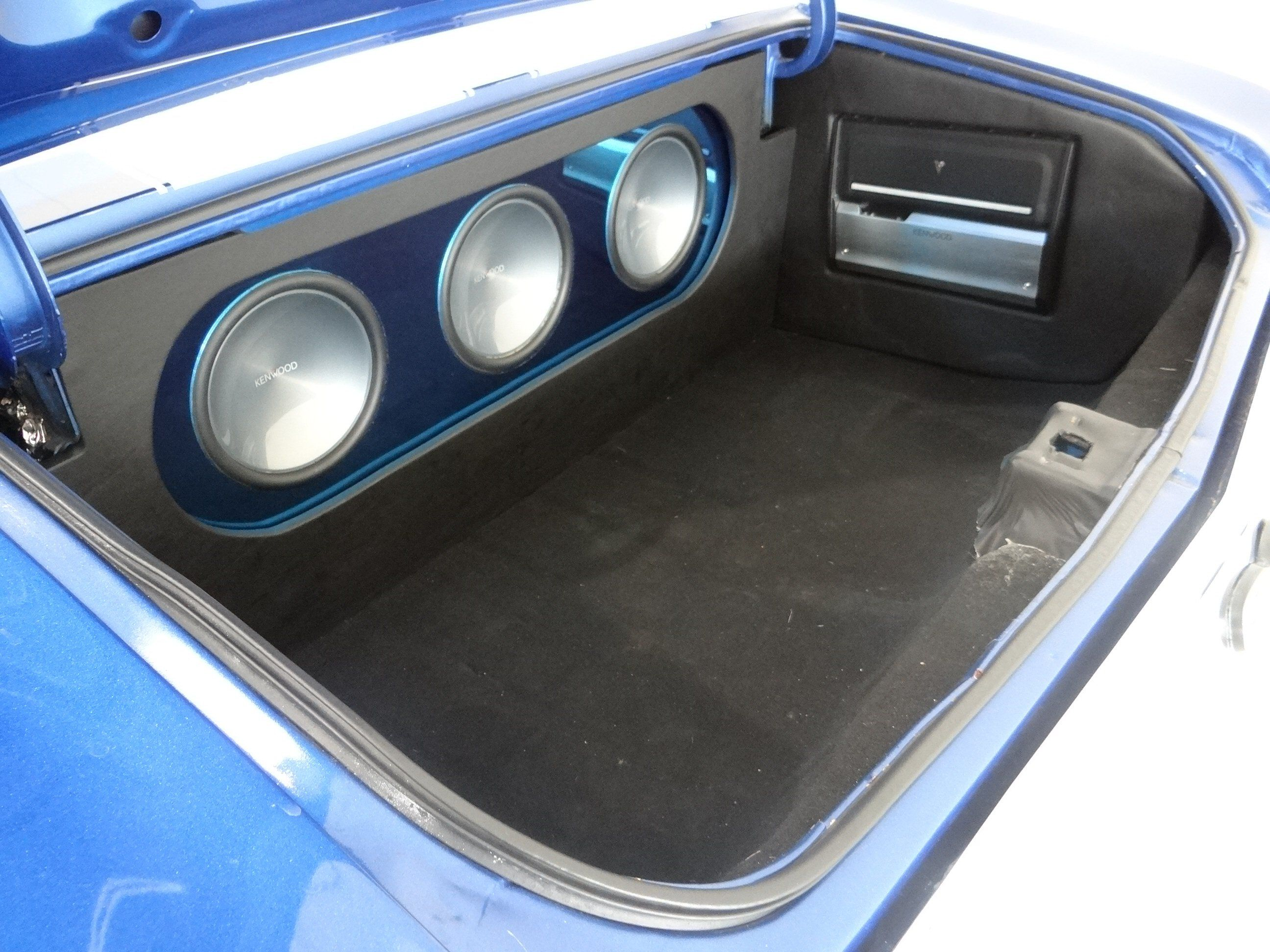 1971 Chevrolet Chevelle Ss Clone Custom Car Audio Trunk