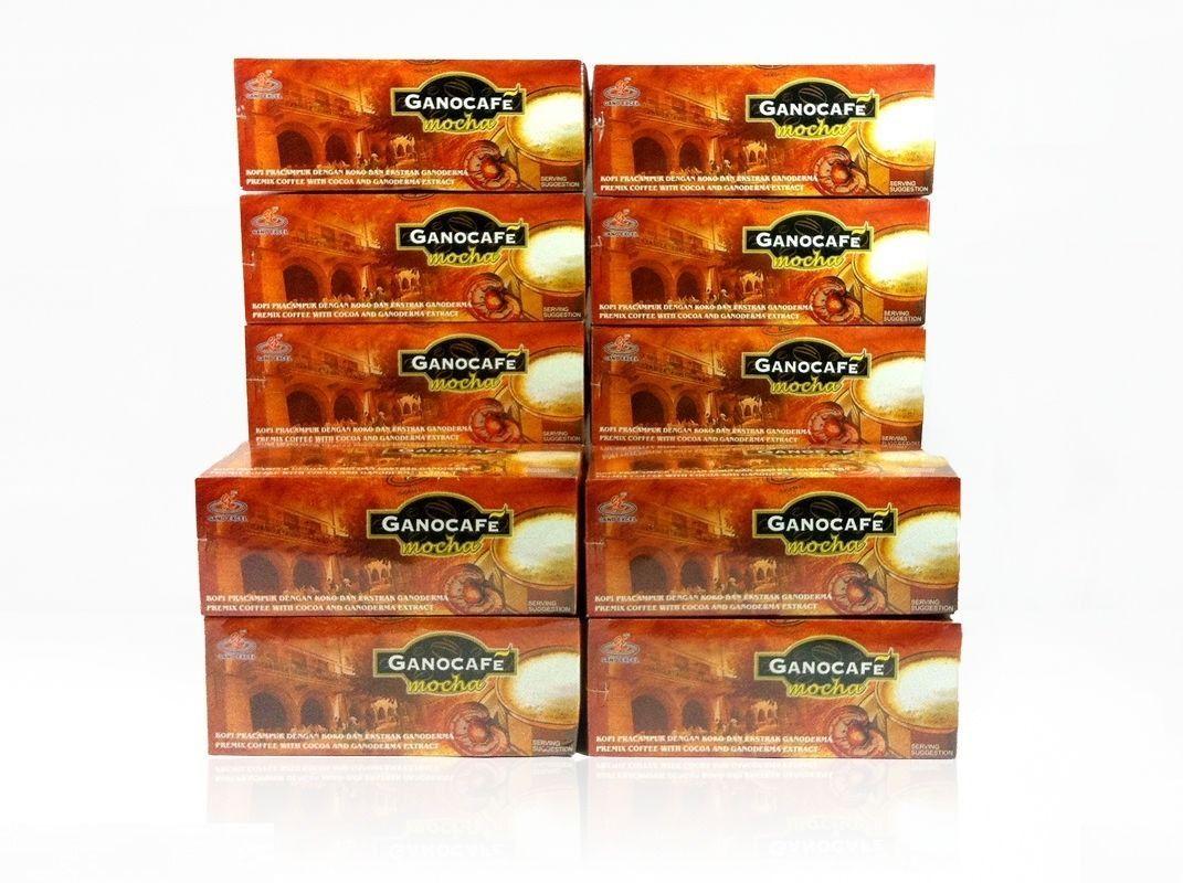 NEW SEALED ! ( 14 Box ) Gano Excel Ganocafe Mocha Coffee