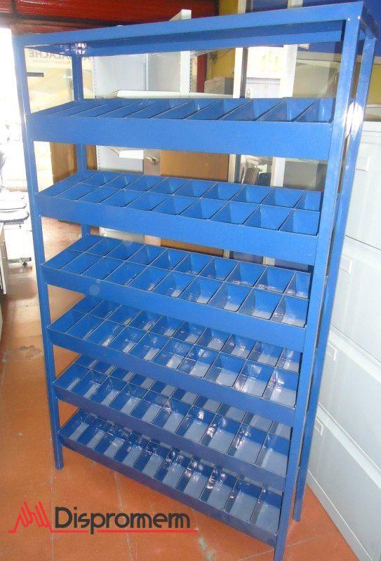 Mueble de almacenamiento de tornillos repuestos o piezas for Muebles para piezas pequenas