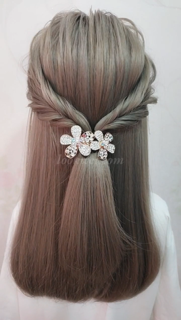 Beautiful Hairstyles for skirts