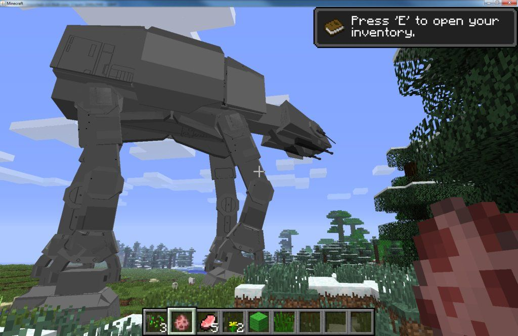 Love Minecraft Star Wars Then You May Explode With Excitement When - Minecraft western hauser