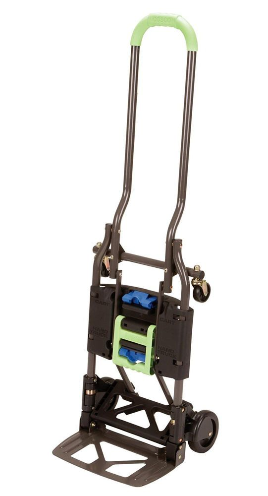 Folding Hand Truck Dolly Heavy Duty Utility Cart Trolley Luggage Moving Portable Hand Trucks Cosco Shifter