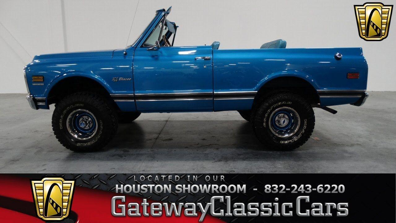 1970 Chevrolet K5 Blazer Houston Texas K5 Blazer Chevrolet
