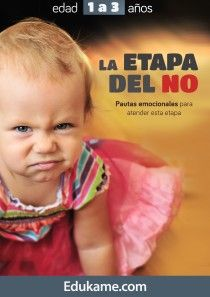 "Guía educativa ""La etapa del NO"""