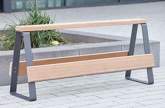 Campus Levis Railing Seat By Westeifel Werke | Exterior Benches