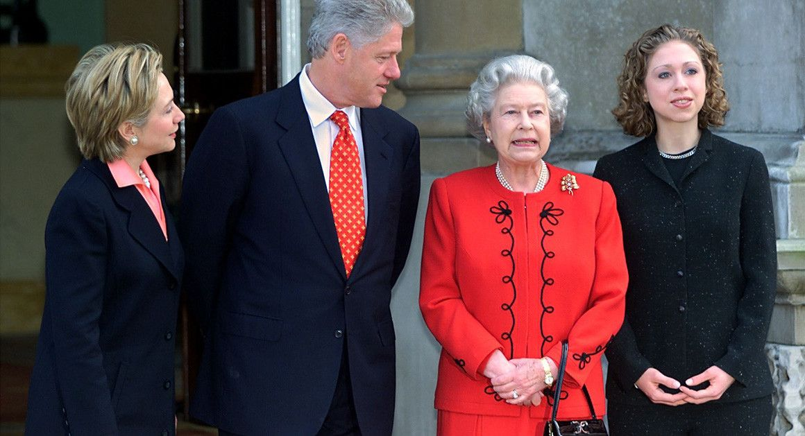Image result for hillary clinton and queen elizabeth