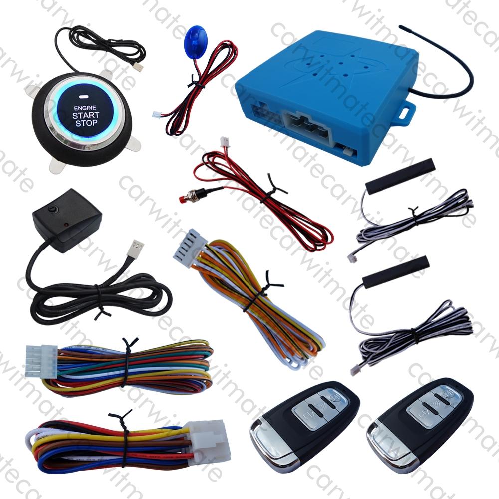 Universal PKE Car Alarm System
