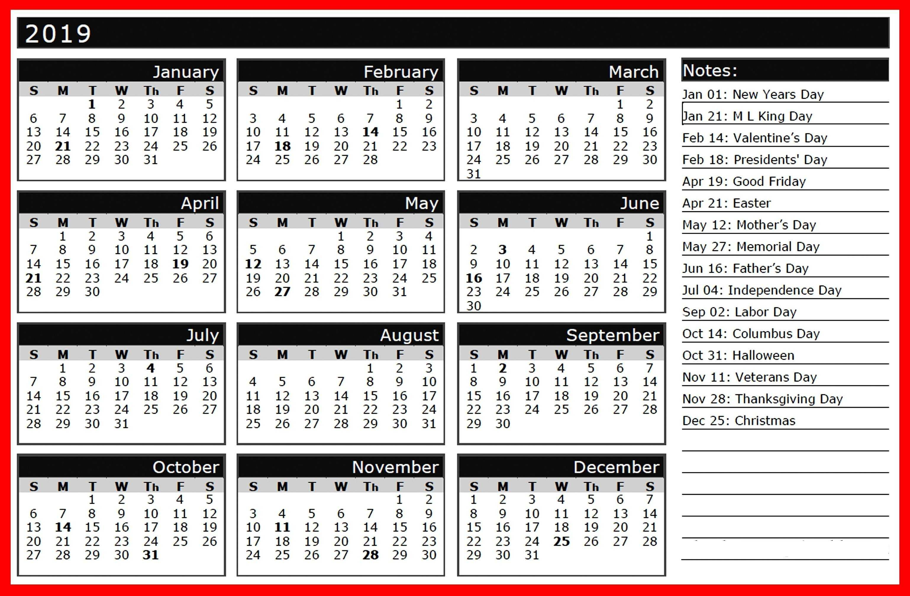 2019 holiday calendar india calendar2019 printablecalendar holidays2019