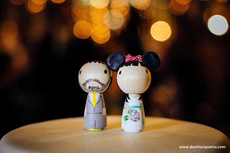 topo de bolo - topo de bolo fofo - noivinhos - noivinhos madeira - topo de bolo madeira - blog de casamento