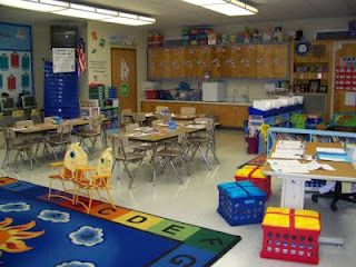 Ms. Beattie: classroom organizing- very tidy and clean