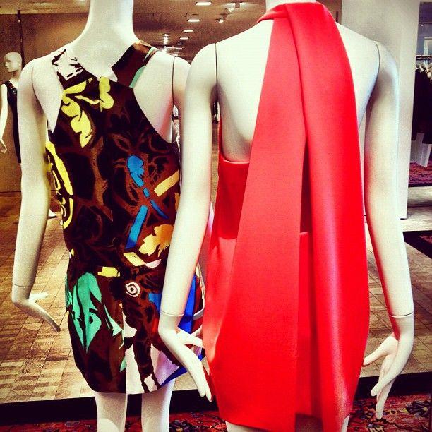 Balenciaga printed dress, 212 872 8667