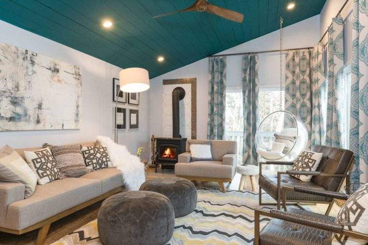 20 Gorgeous Examples of a Teal Living Room | Teal living ...