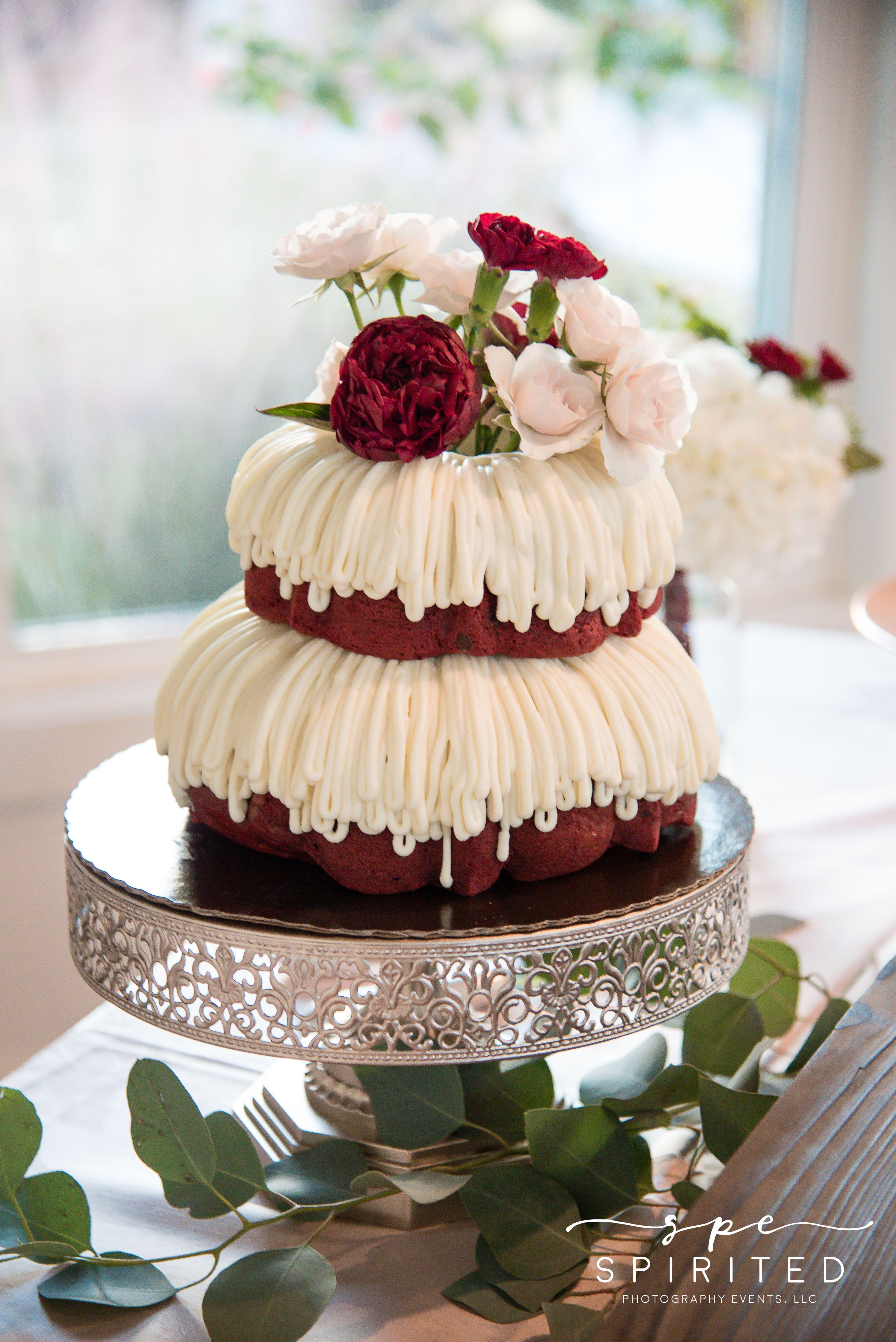 Nothing bundt cakes wedding cake traditional wedding