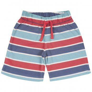 Kite Baby Stripy Shorts.                      25% off this Bank Holiday weekend  Made from organic cotton which is kinder to the skin