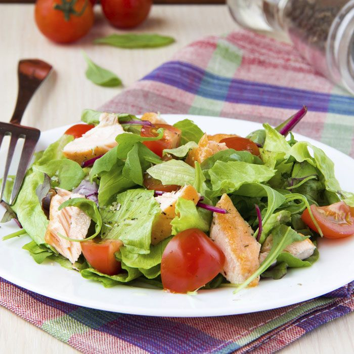 how to make salmon salad with canned salmon