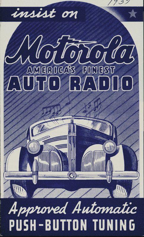 Motorola Auto Radio Vintage Radio Old Radios Car Radio