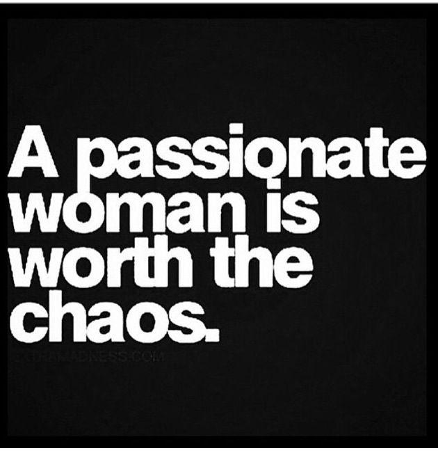 Passionate Woman