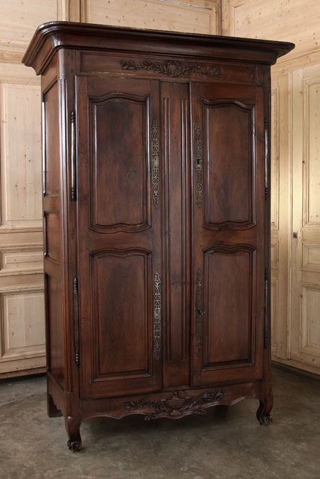 18th Century Provencal Walnut Armoire | Country French | Inessa ...