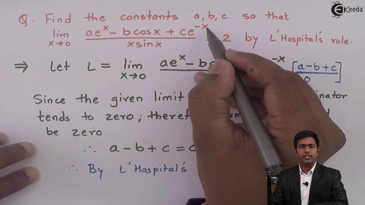 Learn Indeterminate Forms Online | Problem 5 based on Form 0/0 | Ekeeda.com