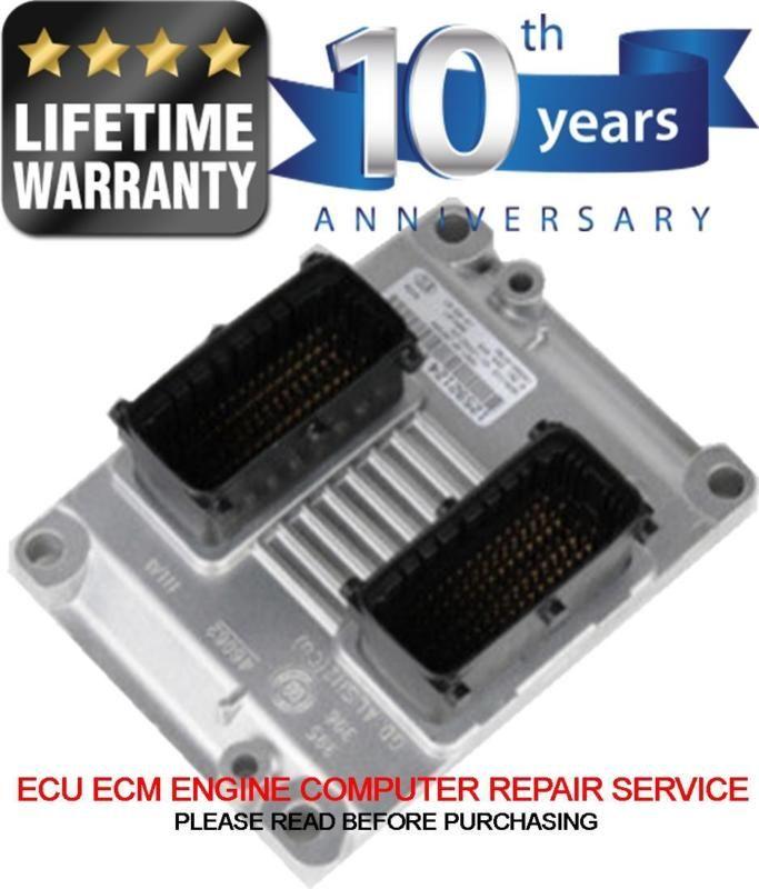 Cadillac CTS GM ECU ECM Engine Computer Repair Rebuild Part