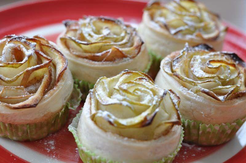 Effektvolles Backen muss nicht schwierig sein! Mit nur wenigen Zutaten könnt Ihr leckere Apfel-Blätterteig-Rosen zaubern! Ihr benötigt: 3-4 Äpfel 1 Pkg Blätterteig (rechteckig) 1 Ei Saft einer halben Zitrone Zimt & Zucker Die ungeschälten Äpfel in feine Scheiben hobeln. Wer … Weiterlesen → #blätterteigrosenmitapfel