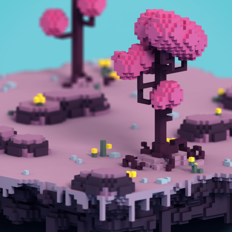 Voxel Game Level For TK Game Jam You Can Play Here Https - Minecraft bit spiele