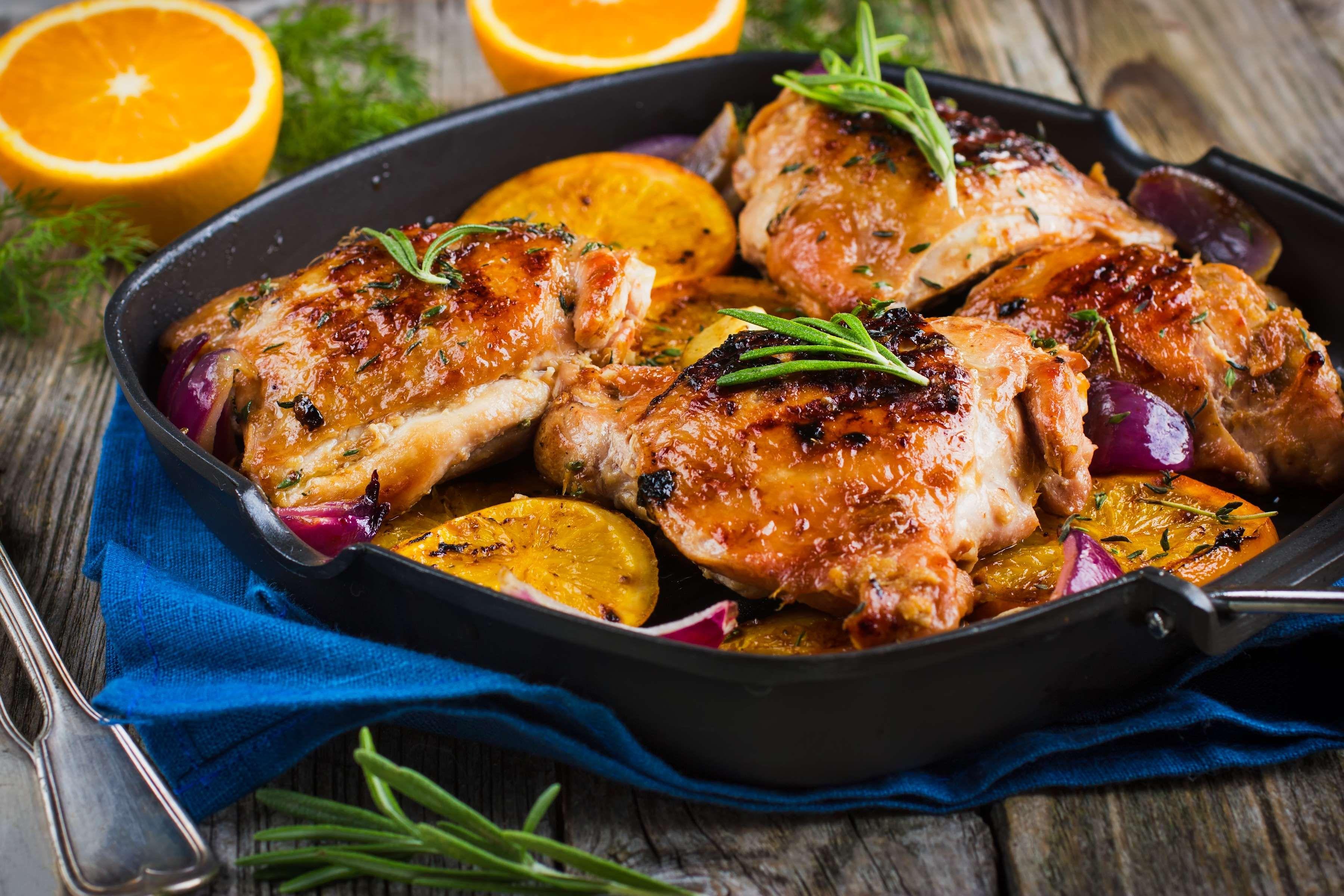 Chefbear Roast Provencal Chicken Recipe Seafood Cooking Recipes Chicken Recipes Actifry Recipes