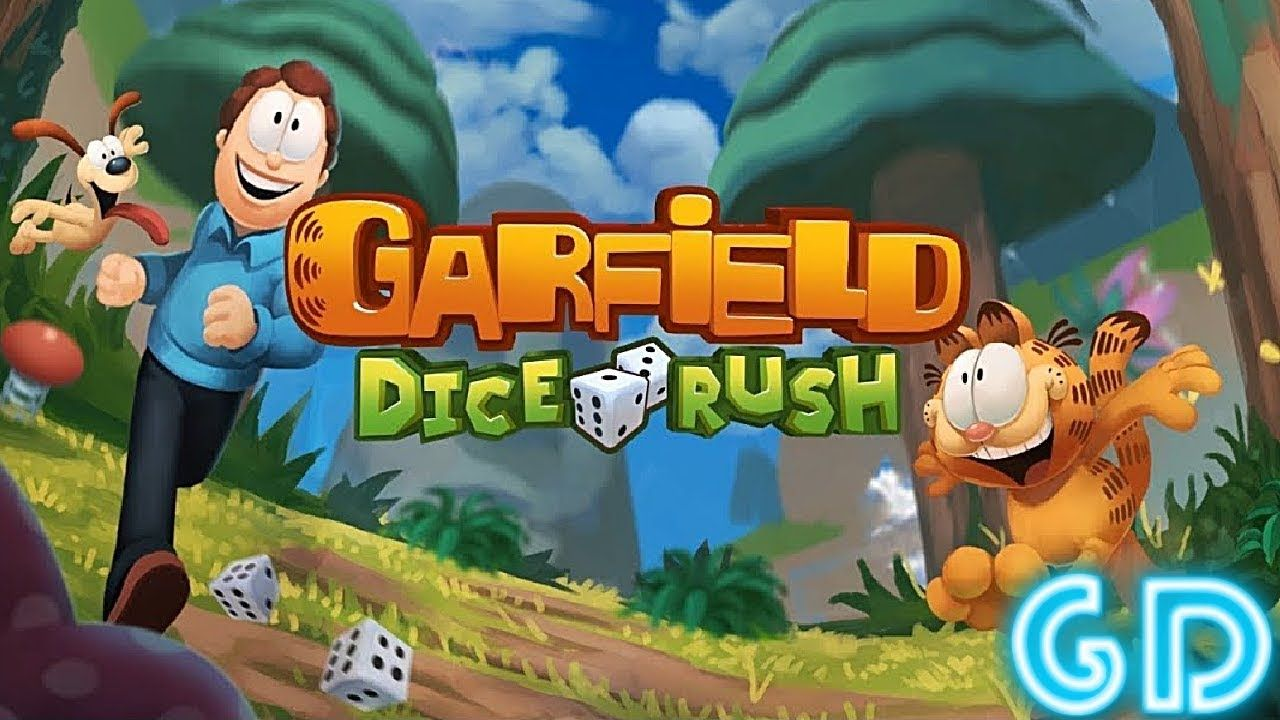 Garfield Dice Rush Gameplay Android Garfield