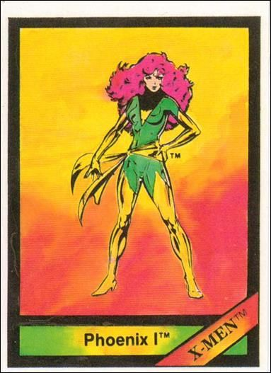 Marvel Universe 14 A, Jan 1987 Trading Card by Comic Images