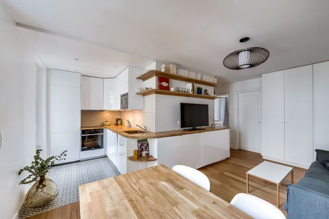 Appartement Paris 12 50 m2 rénovés pour un couple avec