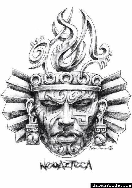 Tattoo Aztec Tattoo Aztec Warrior Tattoo Aztec Tattoo Designs
