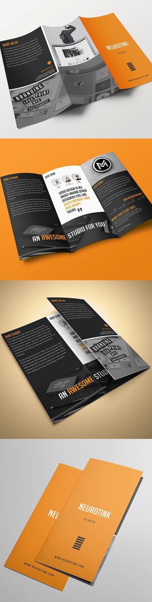 Company Profile Bisnis Perusahaan Identity Brochure