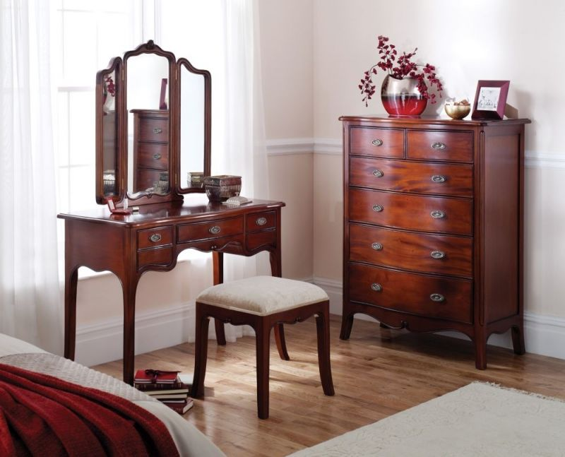 Winsor Olivia Solid Mahogany Dressing Stool A Truly Luxurious Collection Of Handmade Bedroom Furniture Crafted Using Only The Finest And