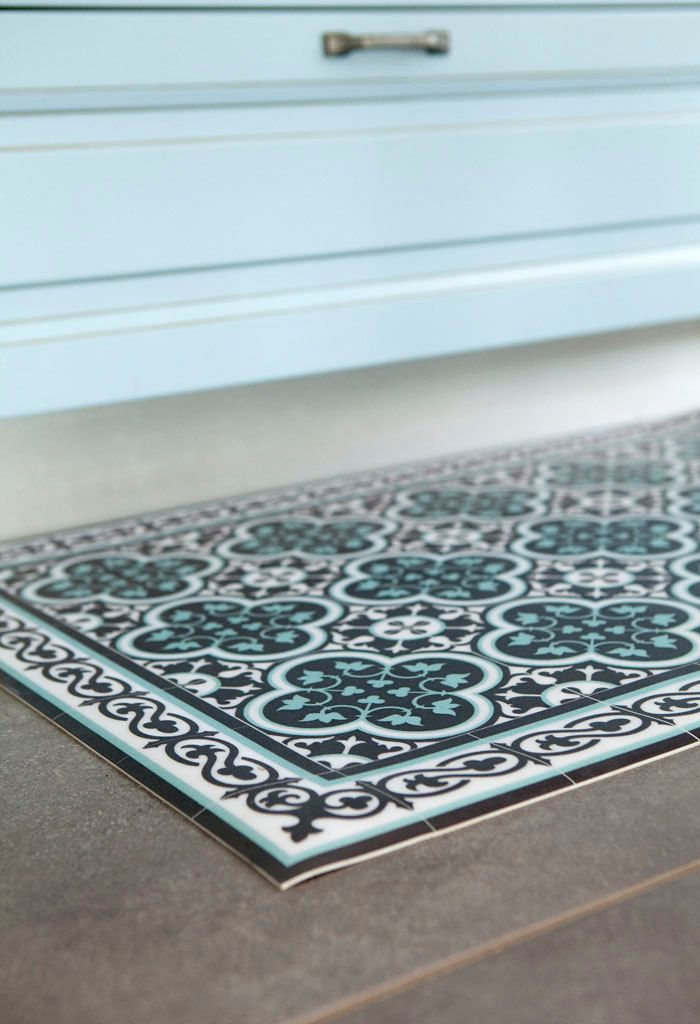 Tiles Pattern Decorative PVC vinyl mat