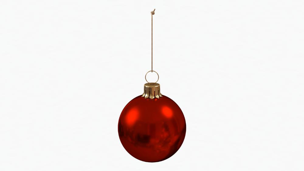Christmas Ball Red Glossy 3d Model Turbosquid 1446166 In 2020 With Images Christmas Bulbs Christmas Balls Pendant Light
