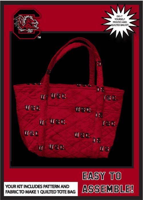 University of south carolina do it yourself college tote bag kit university of south carolina do it yourself college tote bag kit tote south solutioingenieria Image collections