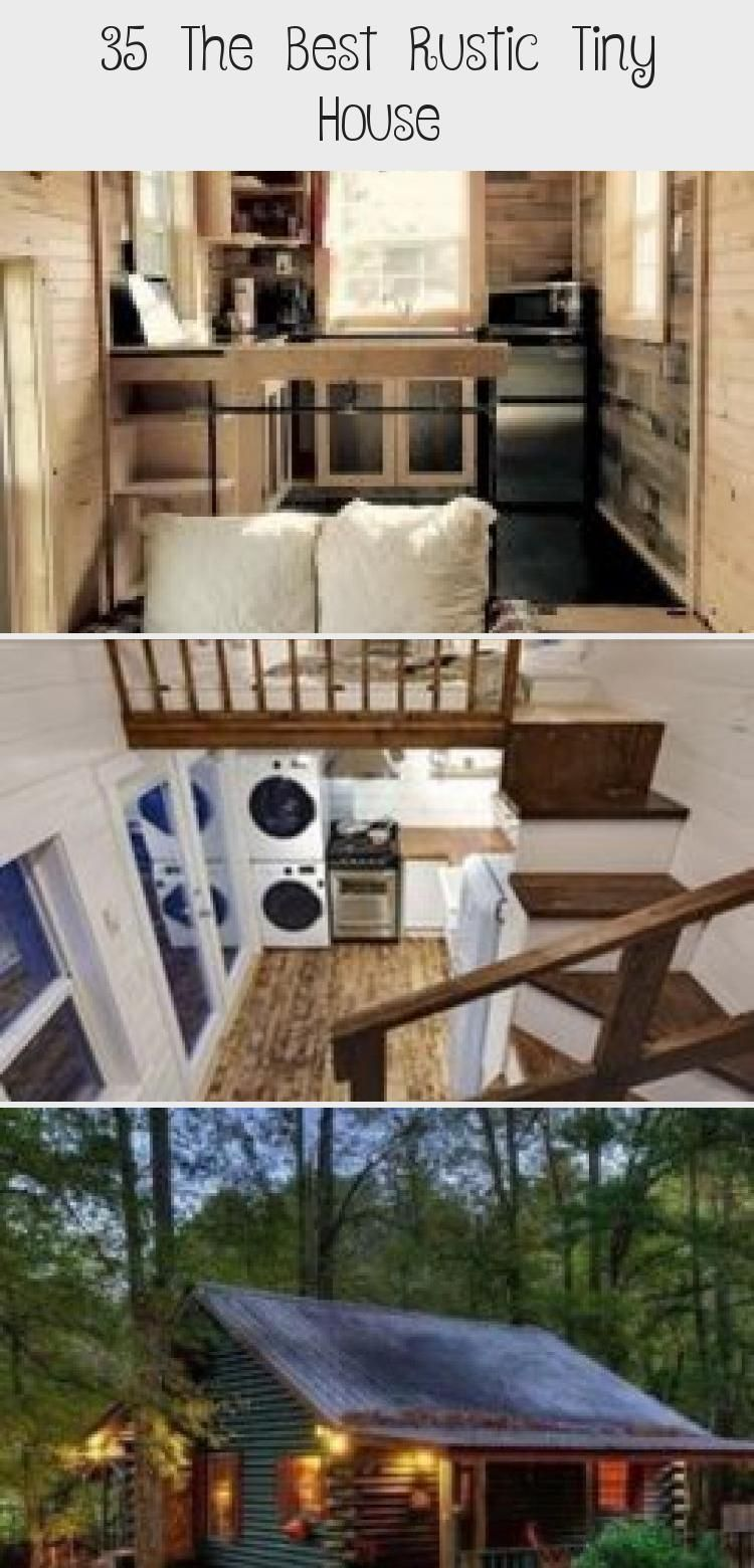 35 The Best Rustic Tiny House #tinyhouseinteriorIdeas #tinyhouseinteriorDesign #Goosenecktinyhouseinterior #tinyhouseinteriorStairs #tinyhouseinteriorDecorating