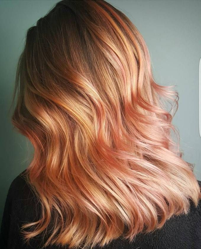 20 Brilliant Rose Gold Hair Color Ideas Rose Gold